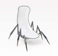 scorpion chair 3d max