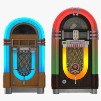 jukebox juke box 3d model