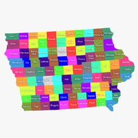 max iowa counties