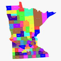 maya minnesota counties