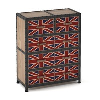 union jack commode 3d model