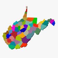 3ds max counties west virginia
