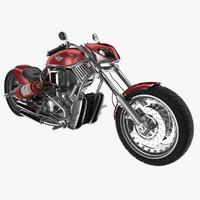 3dsmax motorcycle harley davidson