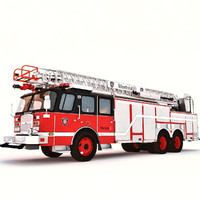 hp aerial ladder 3d model