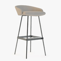 3d karl bar stool