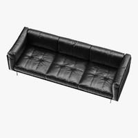 3d model living divani piero