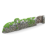 lightwave stone wall vines