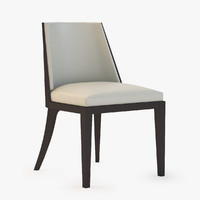 3d model crescent chair