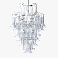 3d model mazzega chandelier