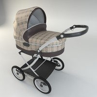 max baby pram modelled