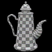 teapot nr 1 easily 3d 3ds