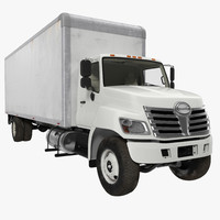 box truck 3d max