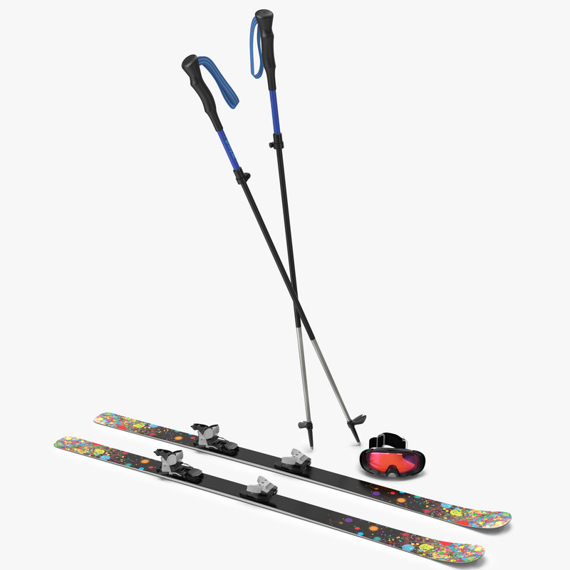 Snow Ski Collection 3d models 00.jpg