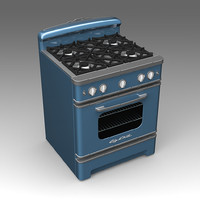 big chill stove appliances 3d model