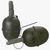 3ds max grenade rgd-5 bomb