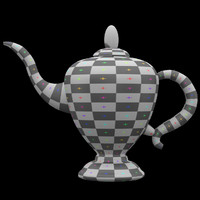 3d teapot nr 2 easily