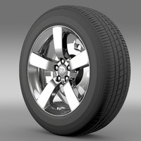 3ds max dodge t wheel