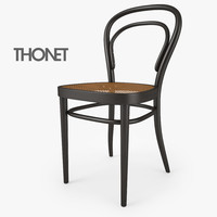 214 chair thonet 3d max