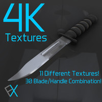 Knife Handle Textures