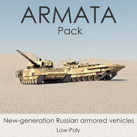 3ds russian armata t-14 battle tank