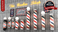 barber pole 3d 3ds
