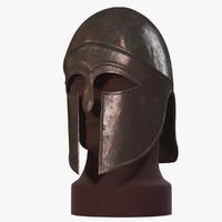 corinthian helmet v-ray 3d max