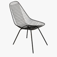 chair eames wire 3d max
