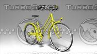 3d bike city model