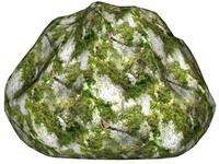 Mossy rock 154