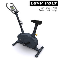 3d exercise bike