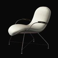 Rare Martin Eisler lounge chair
