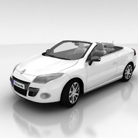 renault megane coupe 3d model