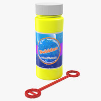 Bubbles Bottle and Wand Generic