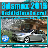 3ds max 2015 Architettura Esterni 3 Mesi Subscription