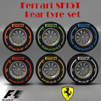 3ds max pirelli tyre sf15t f1