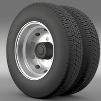 lightwave nissan cabstar wheel