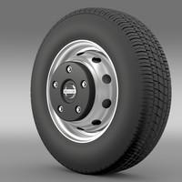 3d nissan cabstar wheel