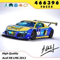 Audi R8 LMS 2012 Winner 24h Nürburgring