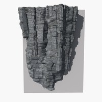 3d model rock 16