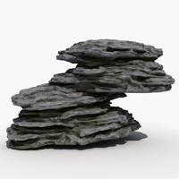 rock 07 3d model