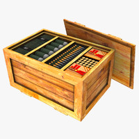 3dsmax ammo crate