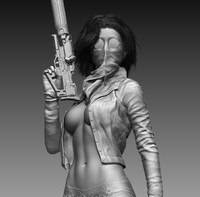 Killer Woman (Zbrush HD)