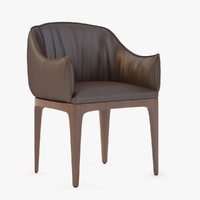 blossom armchair 3d model