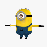 3dsmax minion cartoon animation version