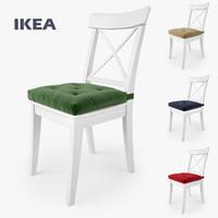ikea ingolf chair malinda 3d max