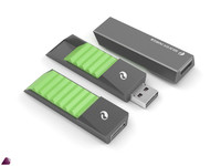 flash drive silicon 3d model