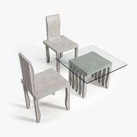 artek 10-unit chair 3d max