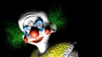 killer clown 3d max
