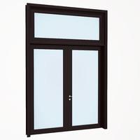 entrance door wood 3d max