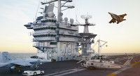 3ds max cvn uss george washington